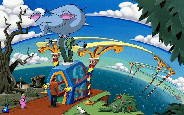 ToonStruck - Поляна со слоном (Кутопия)