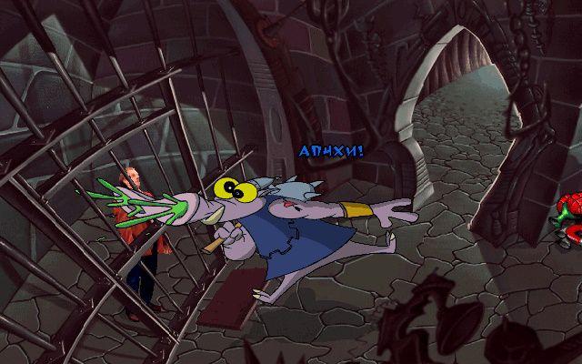 ToonStruck - Дру Бланк устраивает побег из камеры (Замок Нефариуса, Подвал)