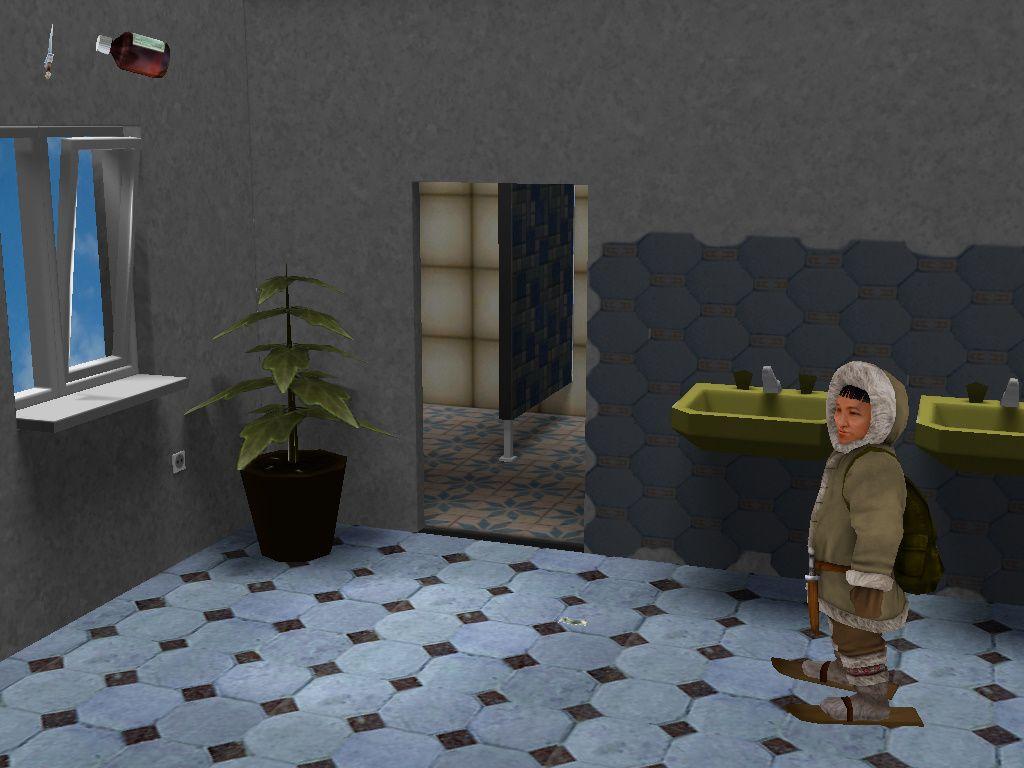 Чукча в большом городе - локация Туалет (Москва)