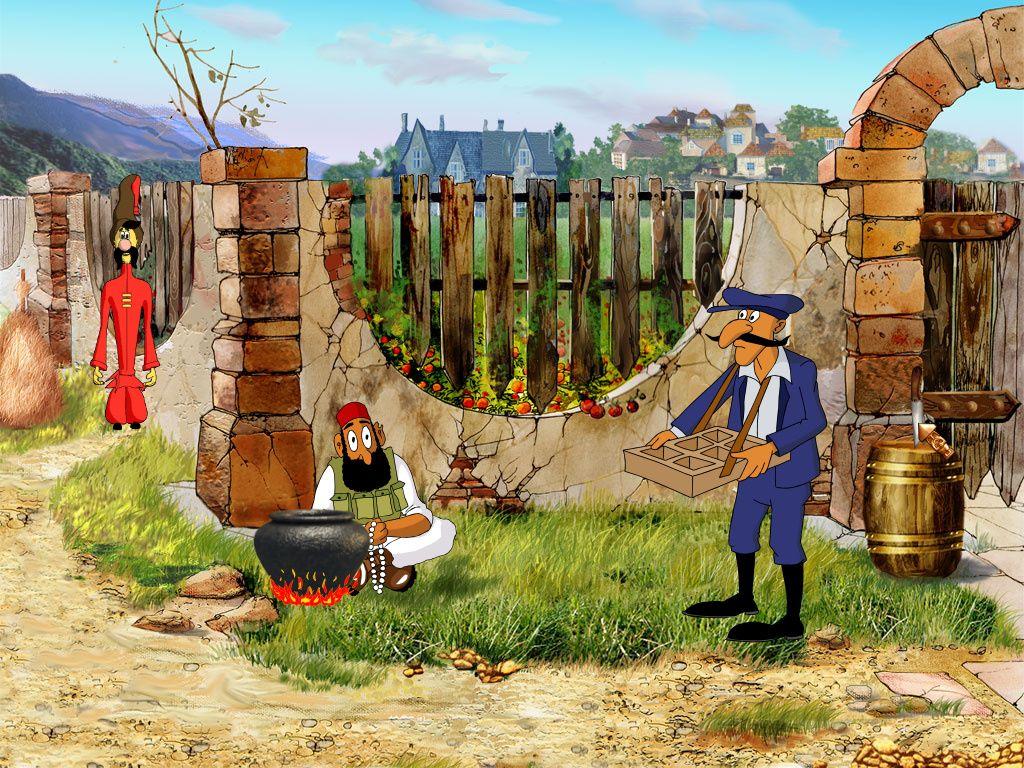 Как казаки Мону Лизу искали - Грай возле огорода (Торговцы)