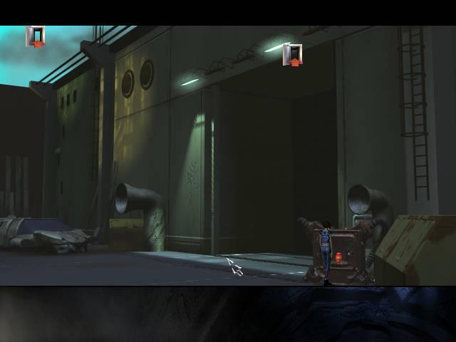 Longest Journey - локация Вход в гараж (Глава 3)