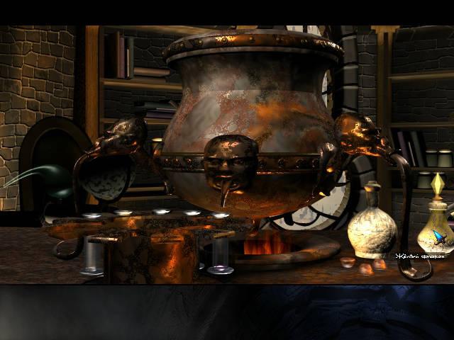 Longest Journey - локация Стол в башне Клакса (Глава 5)