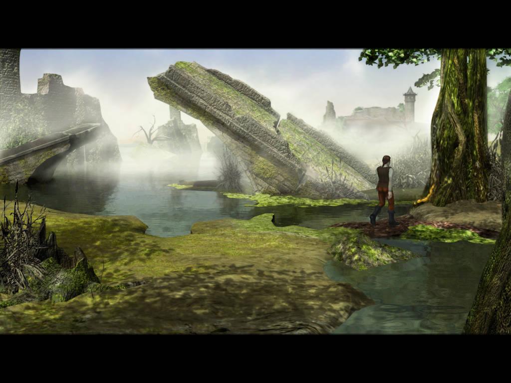 Герой - Руины города на болоте