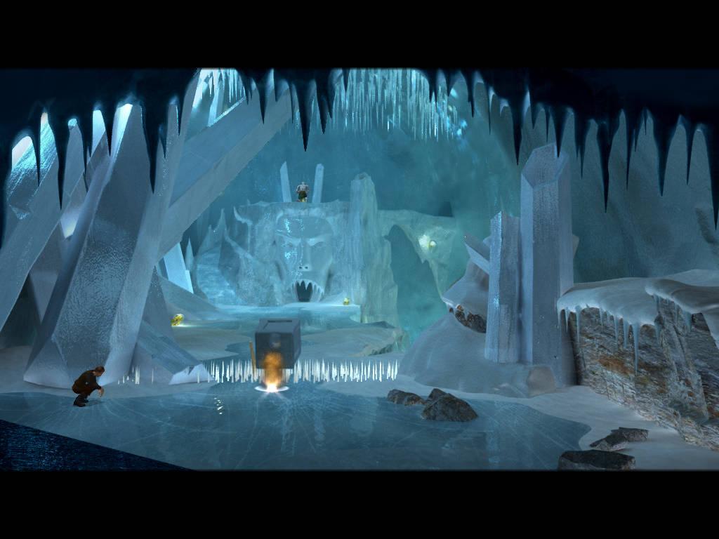 Герой - Проход к пещере Крюгелла