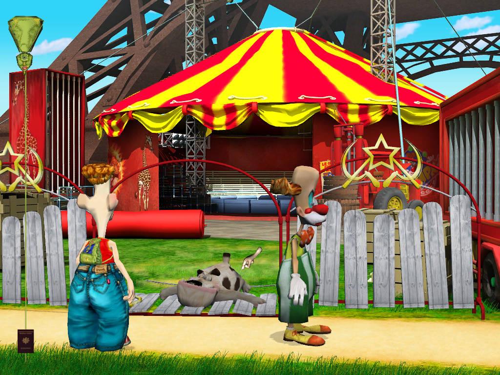Яйца Фаберже - Возле цирка в Париже