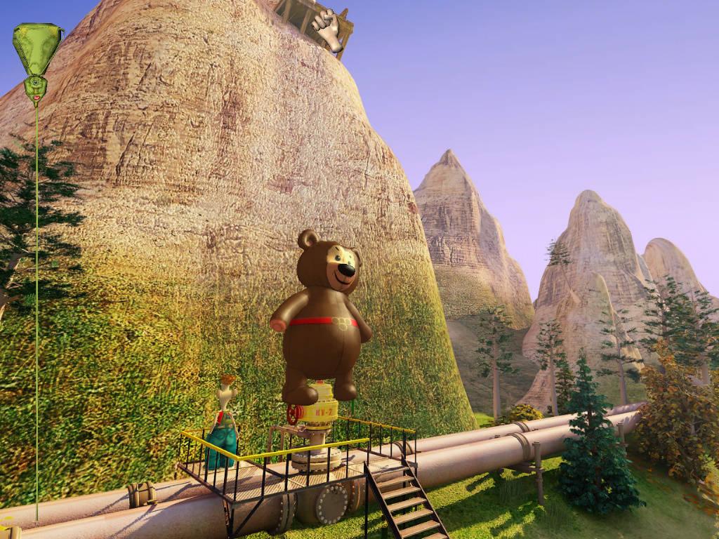 Яйца Фаберже - Надутый медведь