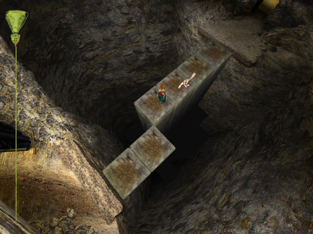 Яйца Фаберже - Путь через пропасть в шахте