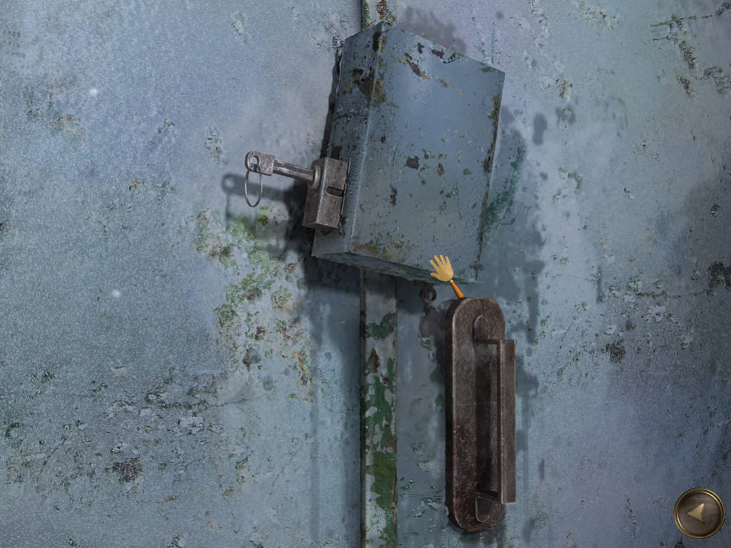 Dead Mountaineer Hotel - Закрытые ворота в гараж