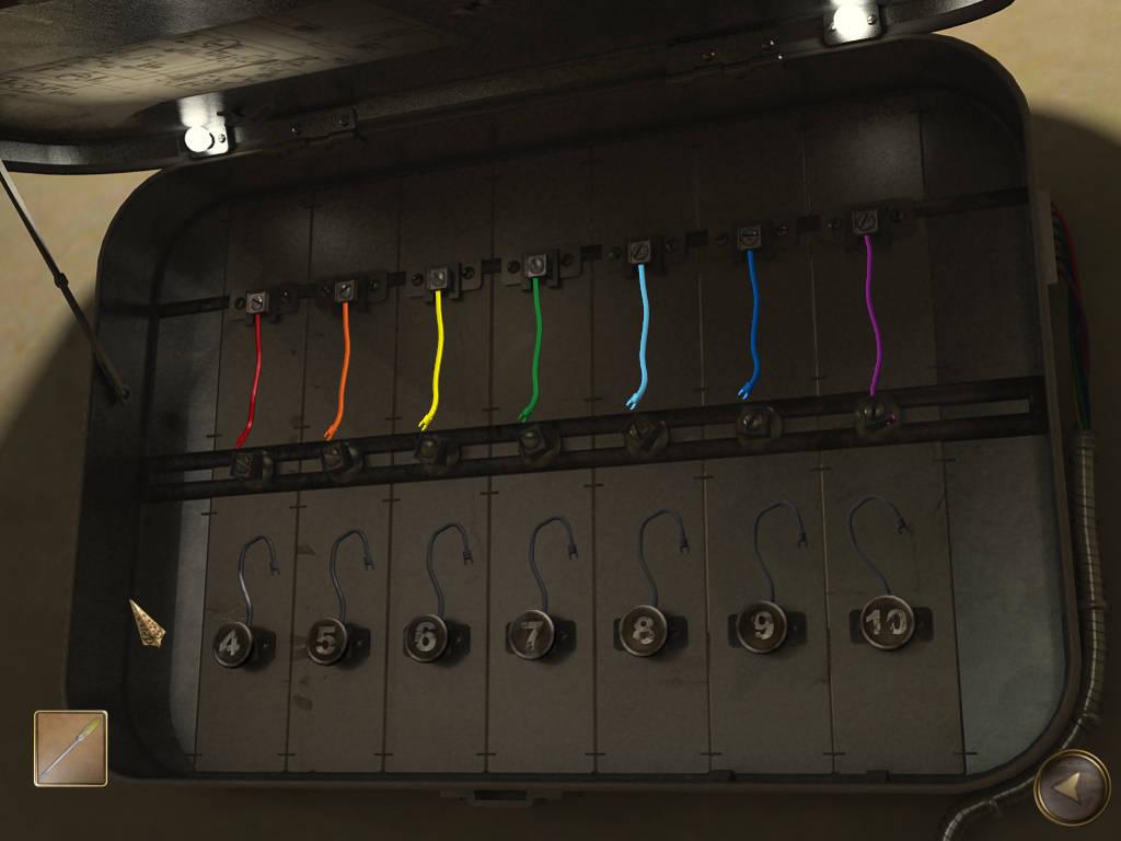Dead Mountaineer Hotel - Разноцветные провода в щитке