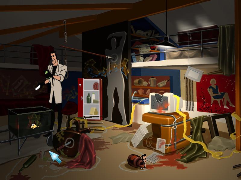Агент: Особое задание - Обыск в квартире Семена (локация