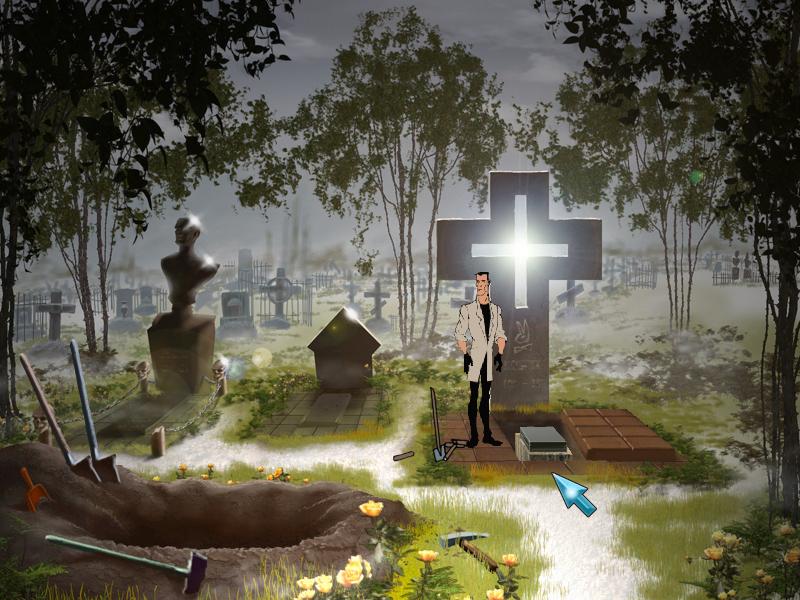 Агент: Особое задание - У могил (локация
