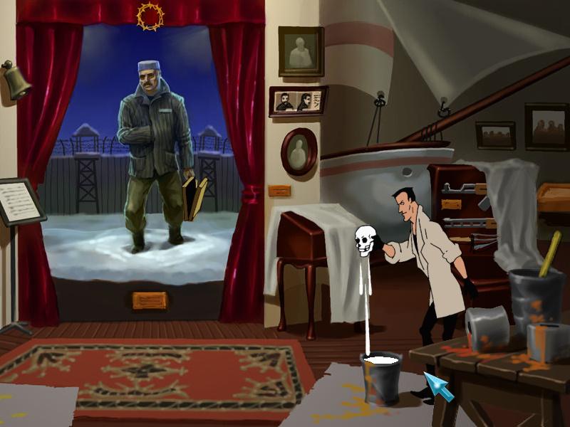 Агент: Особое задание - Экспозиция Гагарина (локация
