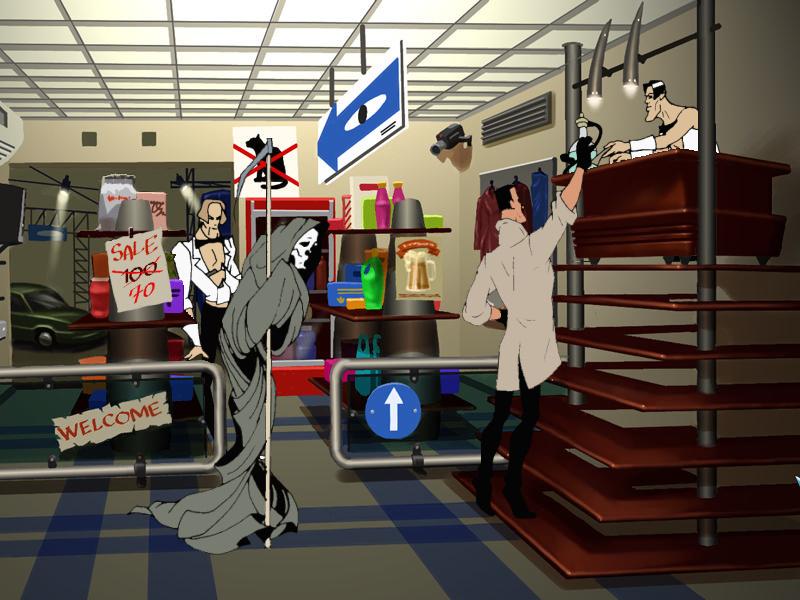 Агент: Особое задание - В магазине (локация