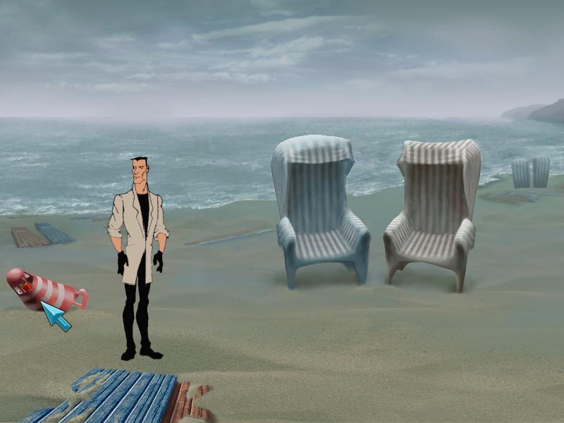 Агент: Особое задание - У моря (локация