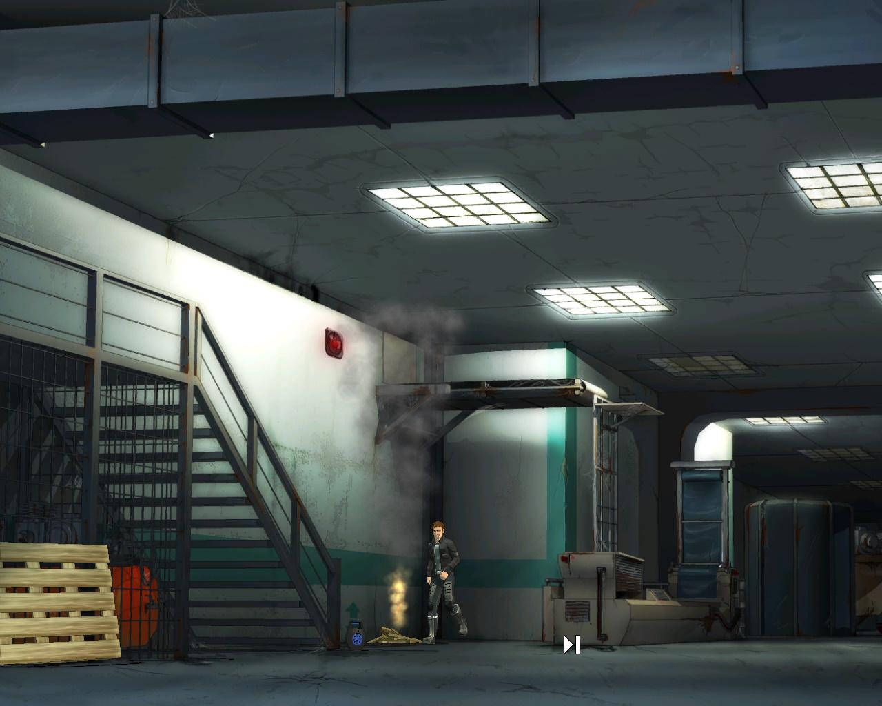 Goin' Downtown - пожар на складе фабрики (уровень 2)