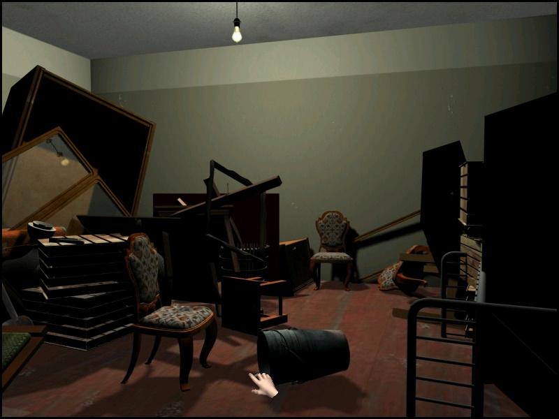 12 стульев: как это было на самом деле - В кладовке найдите 3 стула (локация Комитет ветеранов)
