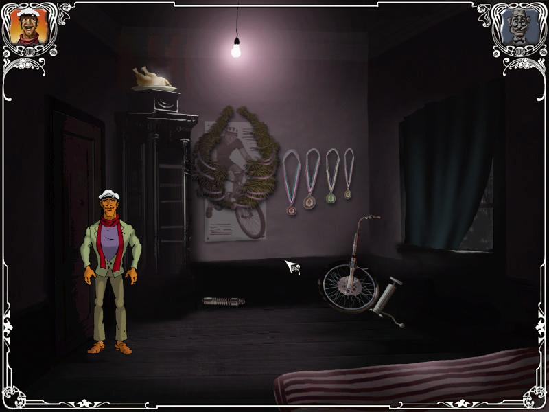 Двенадцать стульев - Комната велогонщика в общежитии (уровень 3)