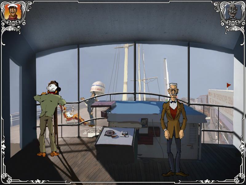 Двенадцать стульев - Капитанский мостик (уровень 4)