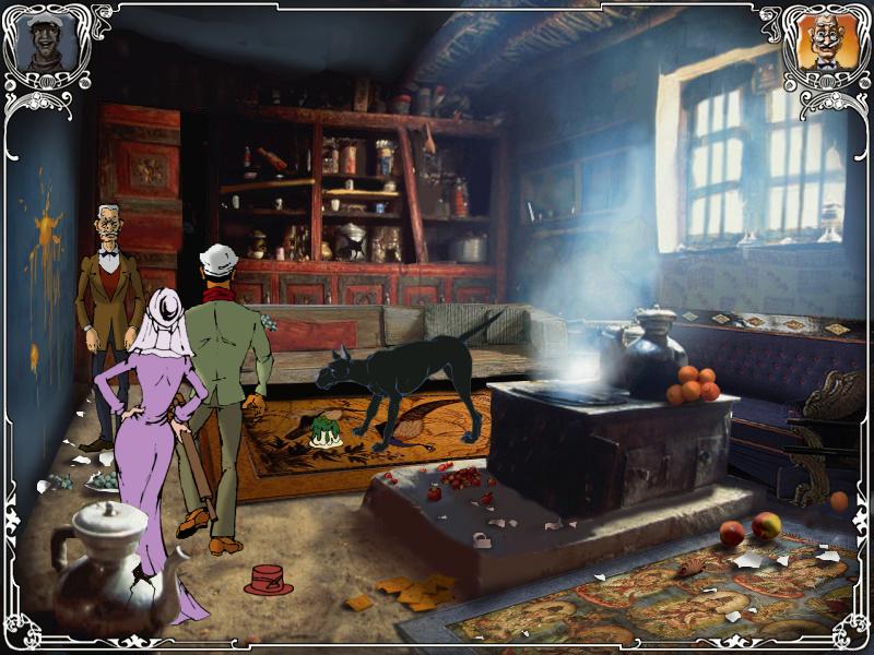 Двенадцать стульев - в комнате Сулико на даче Саахадзе (уровень 8)