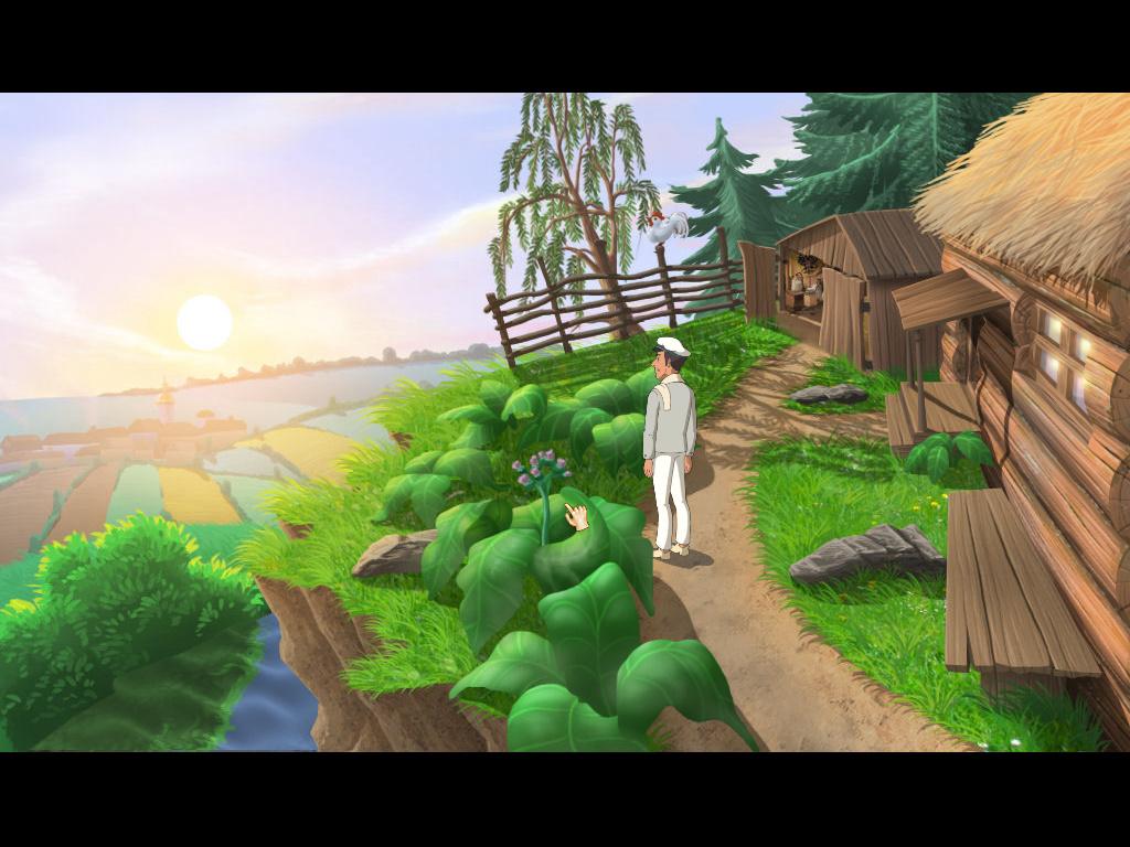 Золотой теленок - Бендер на окраине села (уровень 3)