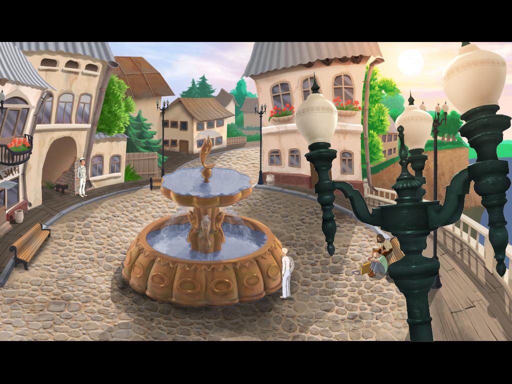 Золотой теленок - Фонтан на центральной площади (уровень 3)