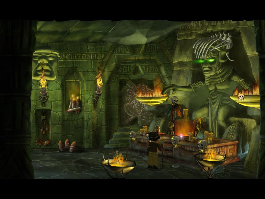 So Blonde - Вождь Чемин в храме (локация деревня Вуду - уровень 5)