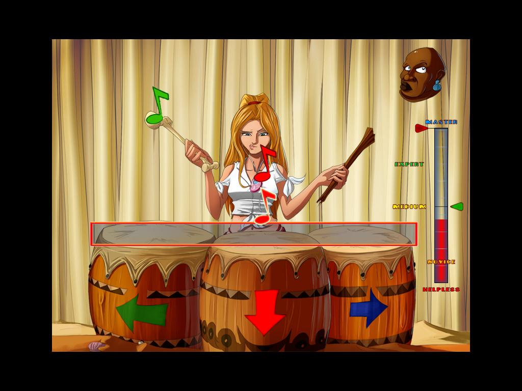 So Blonde - Санни играет на барабанах (уровень 6)