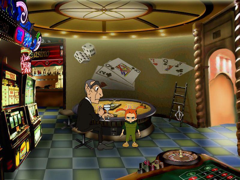 Страшилки: Шестое чувство - локация Зал в казино (уровень 3)