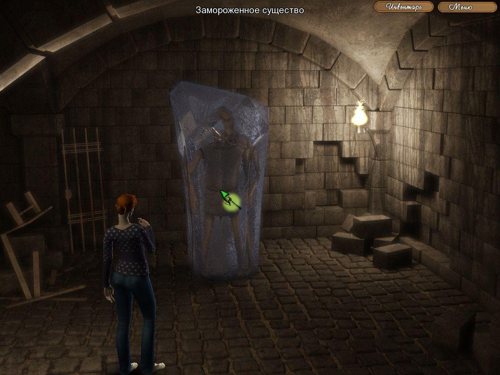 The Legend of Crystal Valley - Ева освобождает ангела (уровень 6)