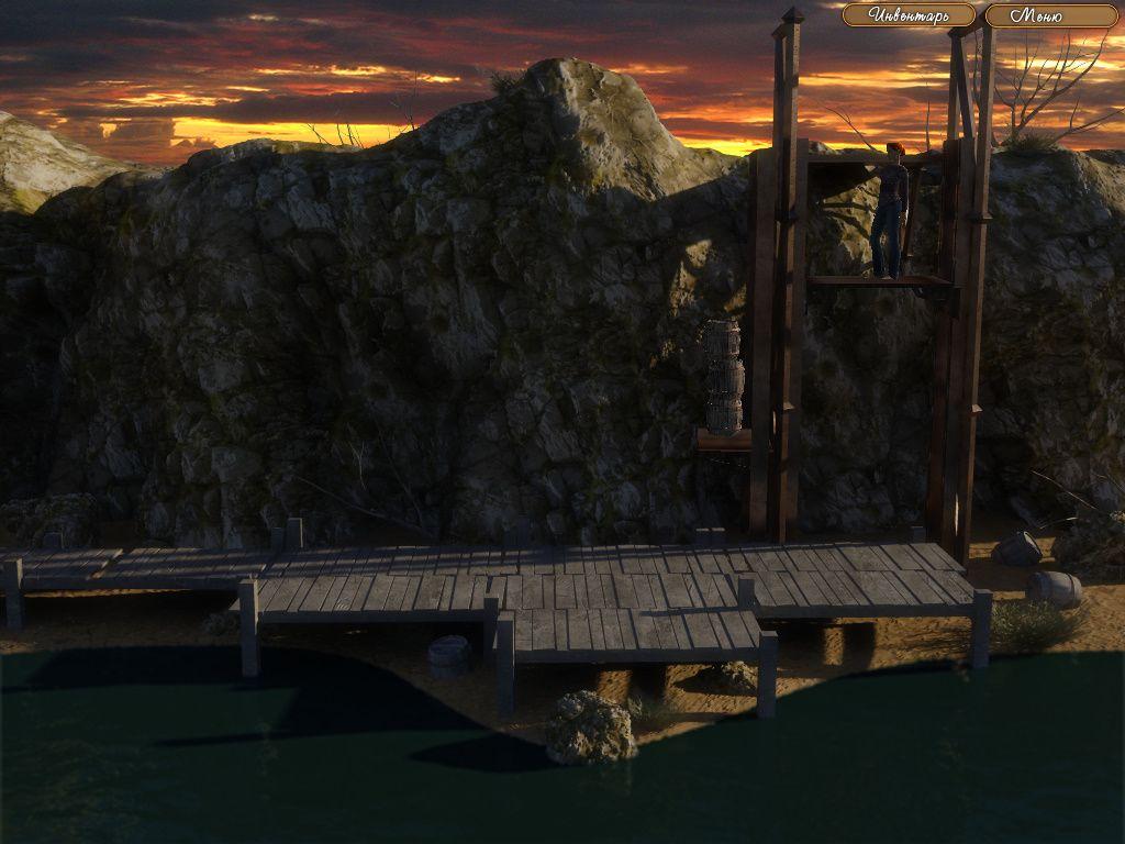 The Legend of Crystal Valley - Ева сделала противовес из бочек для подъема платформы (уровень 9)
