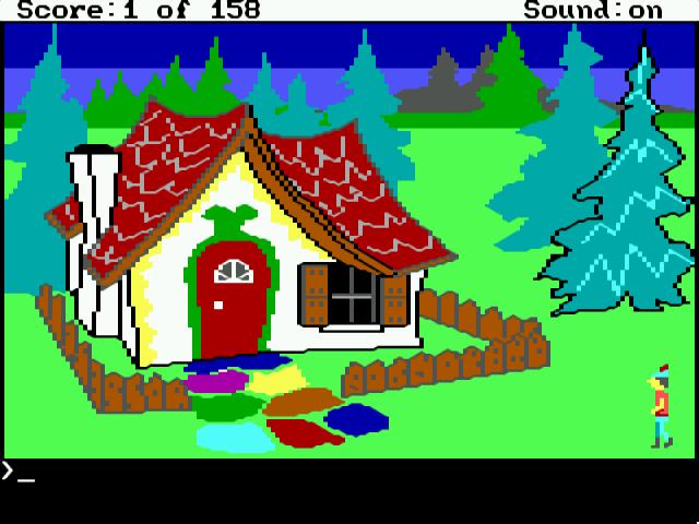 Фрагмент игры King's Quest