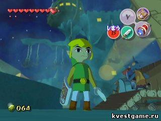 Скриншот игры The Legend of Zelda