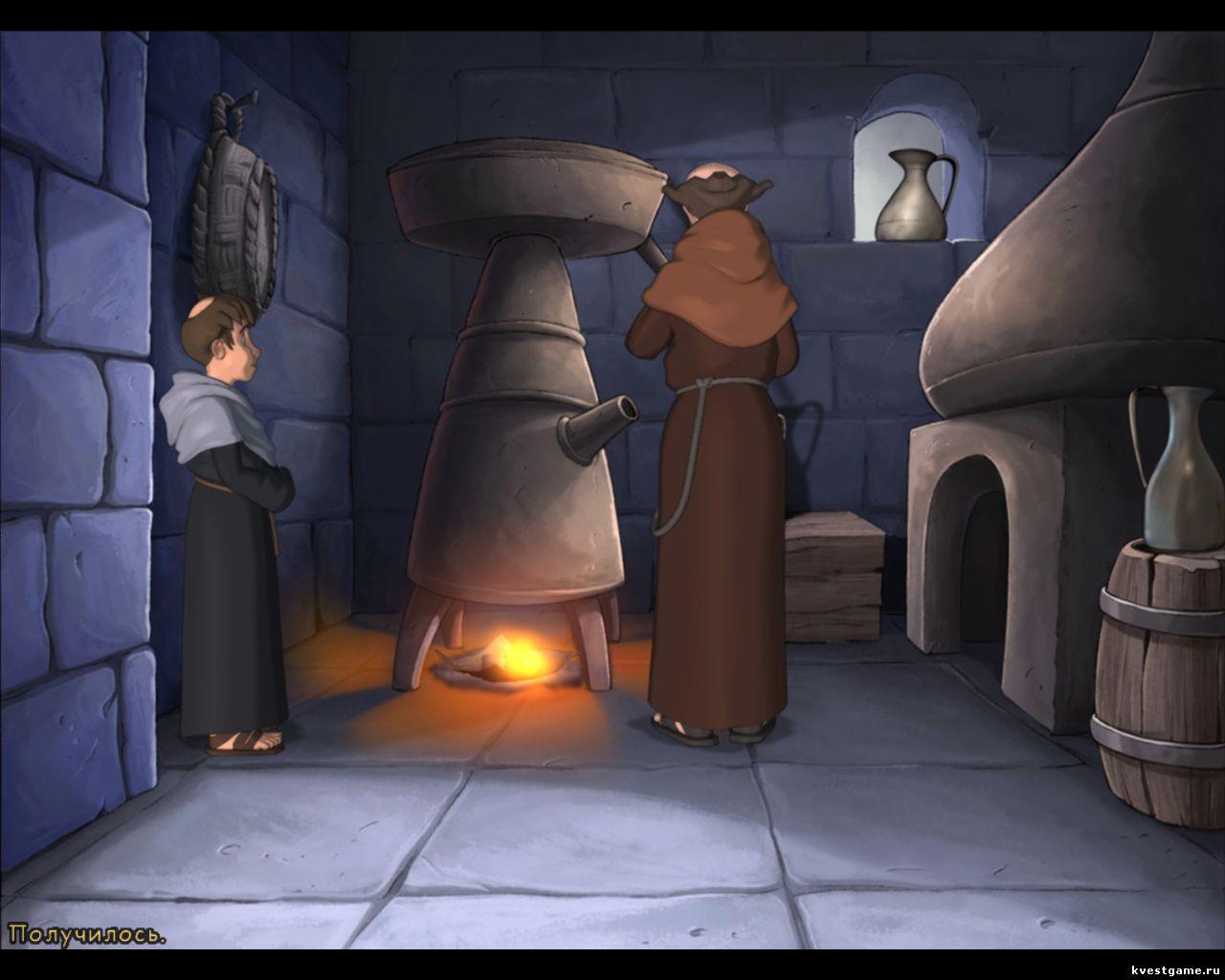 Murder in the Abbey - Леонардо готовит снотворное средство (глава 2)