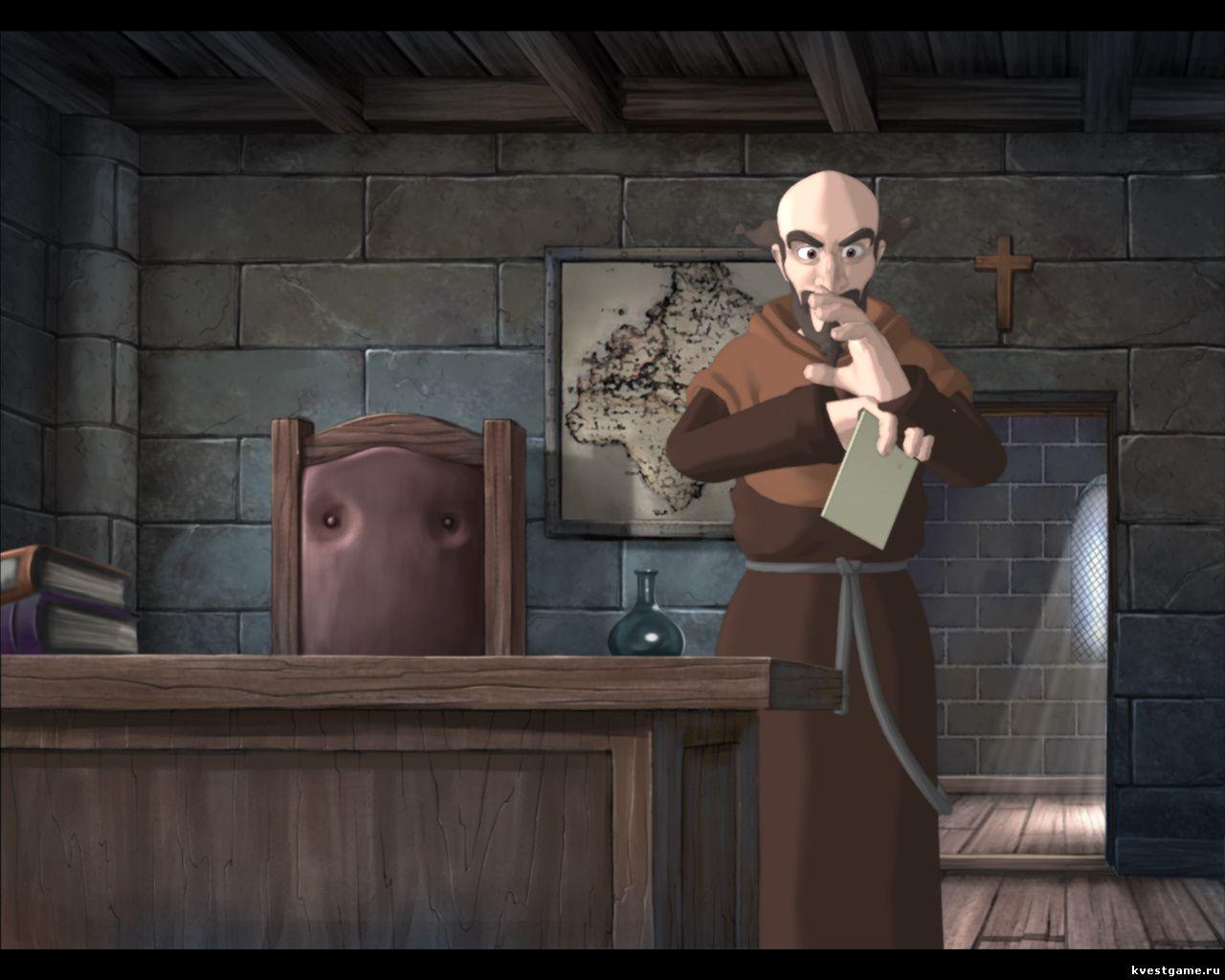Murder in the Abbey - Приор шантажировал Эгидия письмом (глава 4)