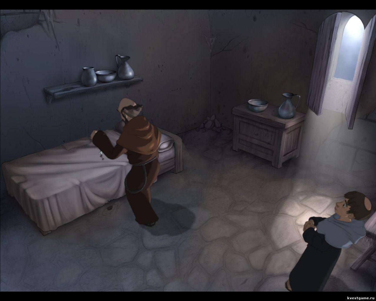 Murder in the Abbey - Леонардо нашел ключ в комнате переводчика (глава 4)