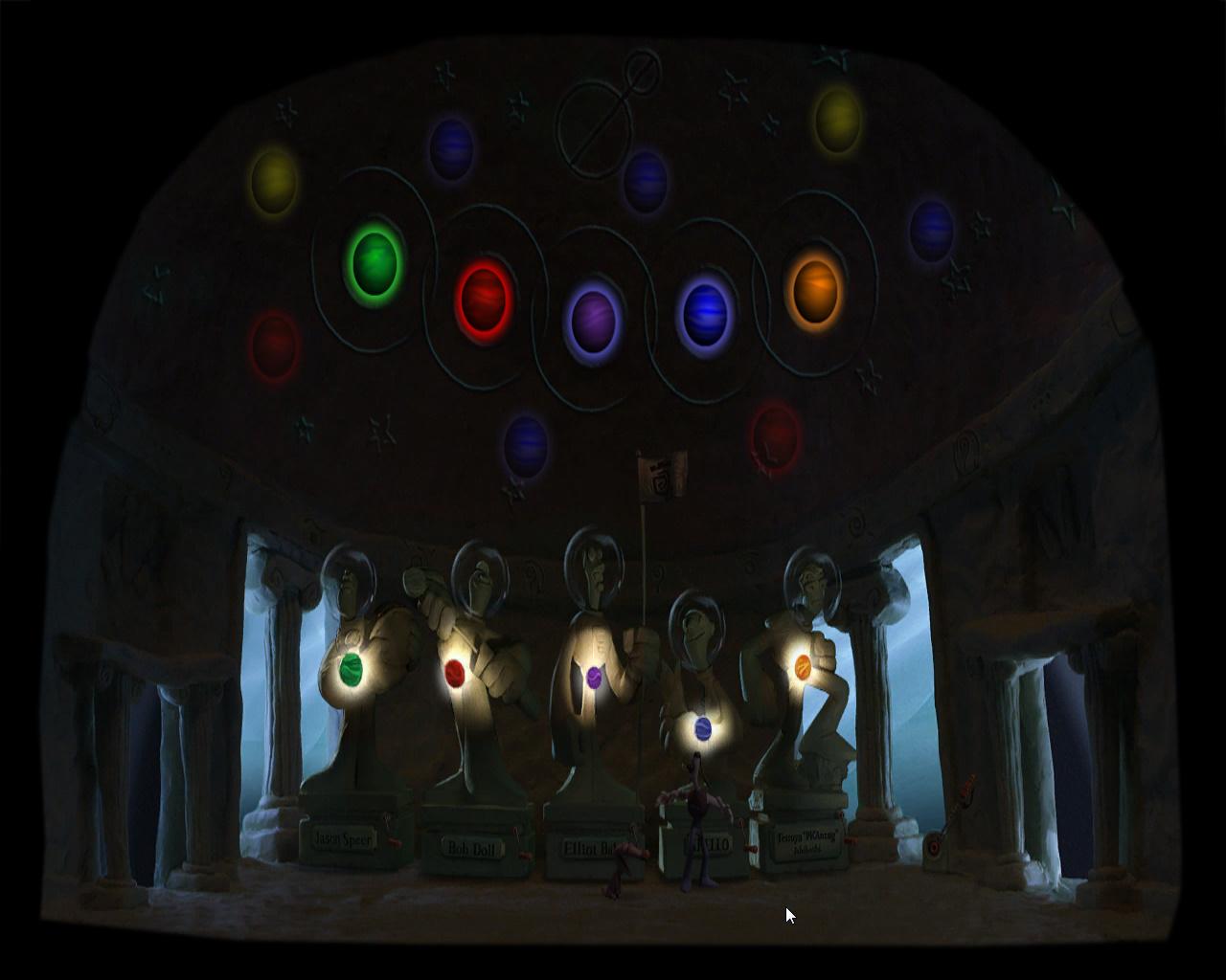 Армикрог - Интересная головоломка со статуями (уровень 2)