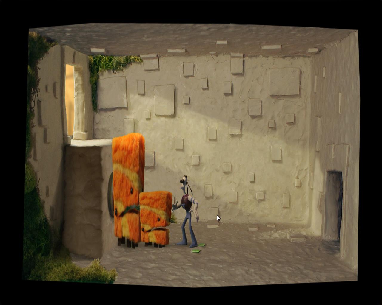 Армикрог - Используем двух монстров, чтобы добраться к двери (уровень 2)