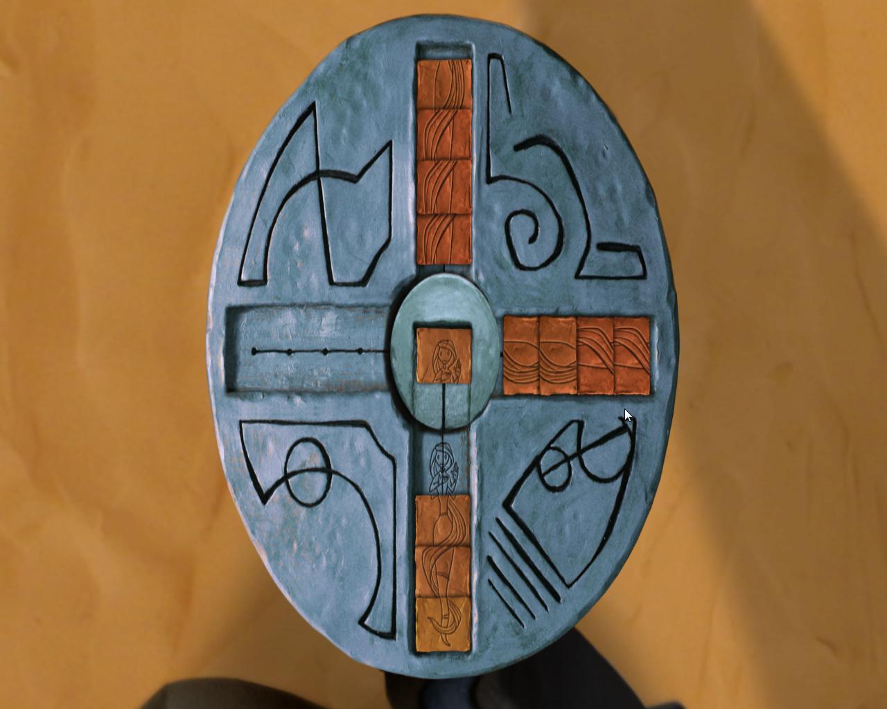 Армикрог - Расстановка камней с рисунком девушки (уровень 3)