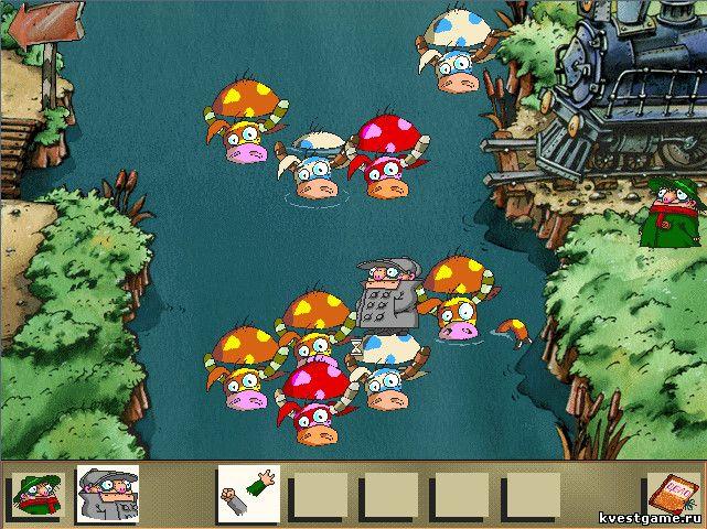 Братья Пилоты 2 - Переправа через реку (уровень 7)