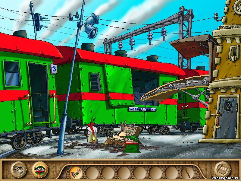 Братья Пилоты 3 - Контрабанда в поезде (уровень 4)