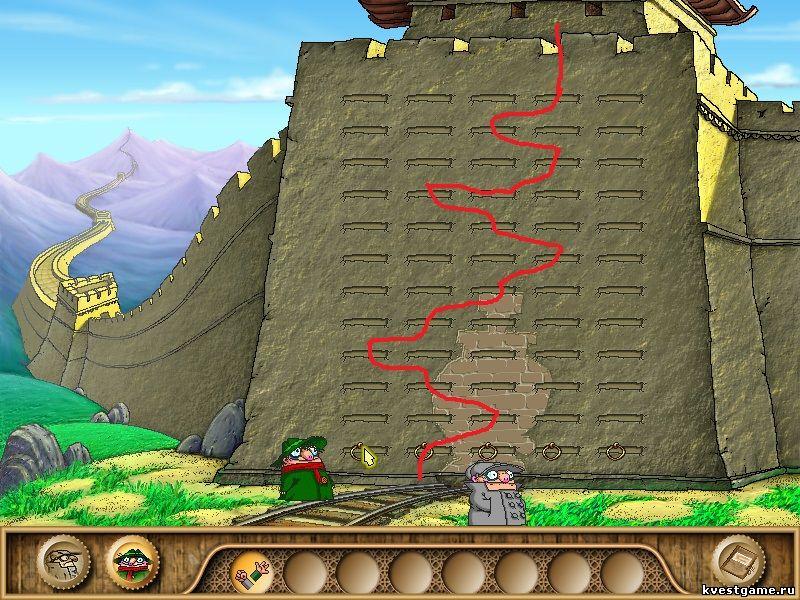 Братья Пилоты 3 - Маршрут по залезанию на стену (уровень 5)