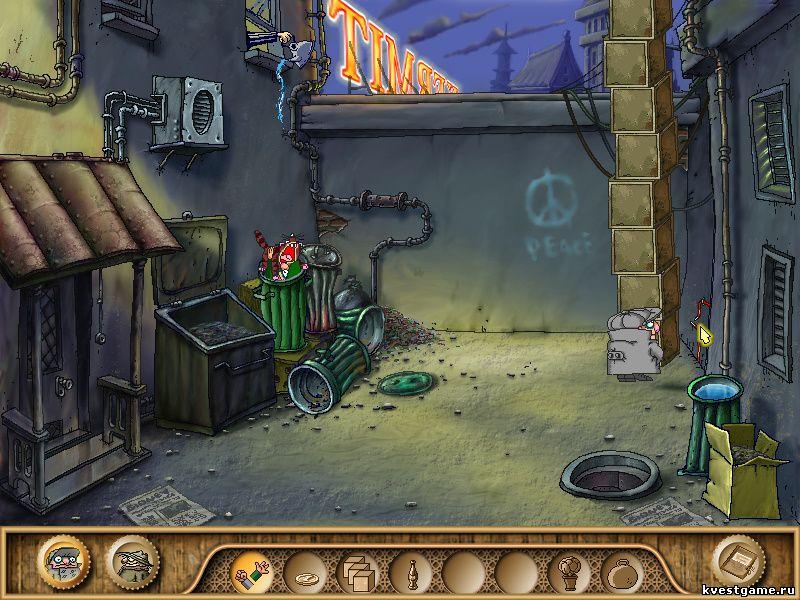 Братья Пилоты 3 - Коллега поймал кота (уровень 9)