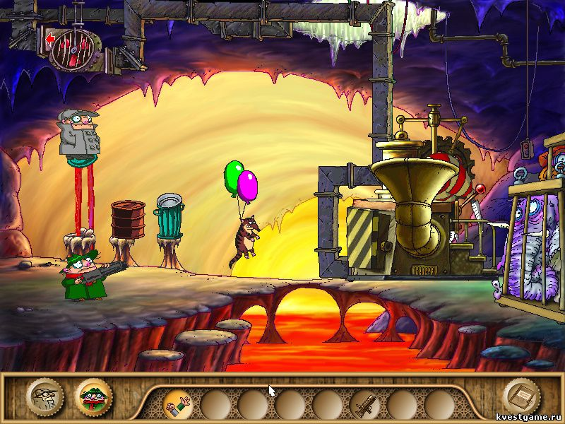 Братья Пилоты 3 - Кот с гелевыми воздушными шариками (уровень 24)