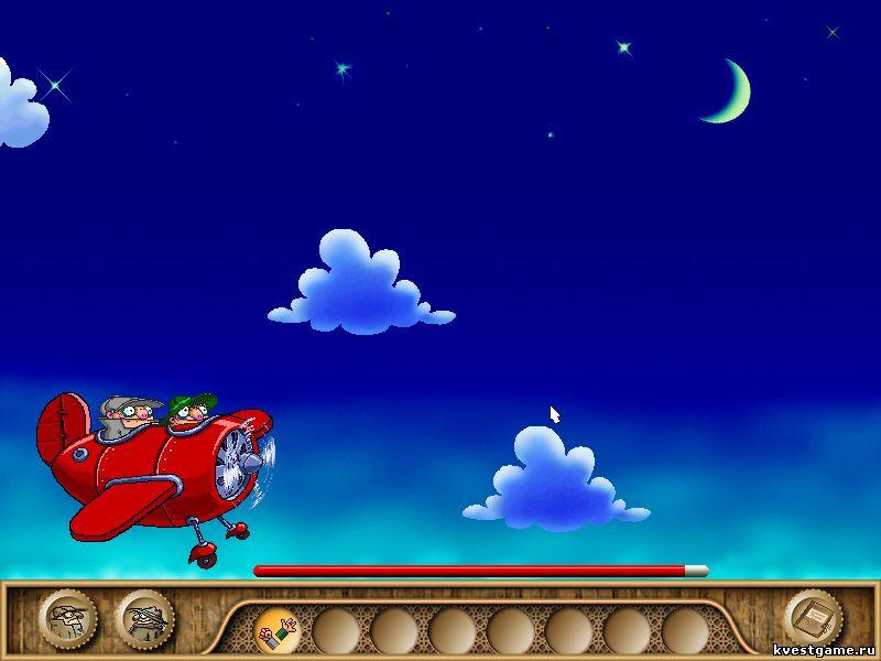 Братья Пилоты 3 - Коллега и Шеф облетают облака (уровень 2)