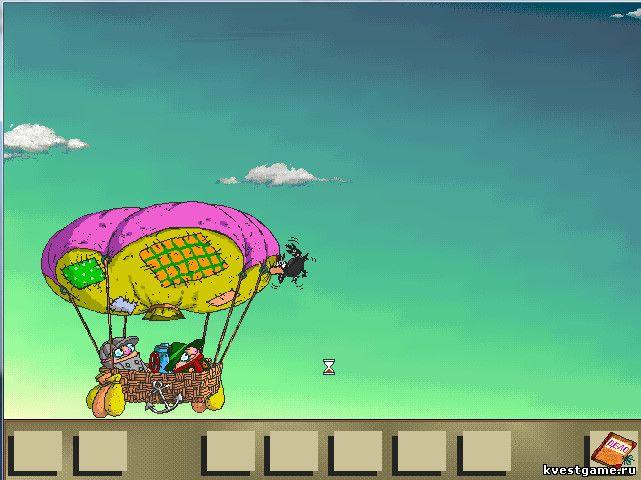 Братья Пилоты - Шеф и Коллега на воздушном шаре (уровень 14)