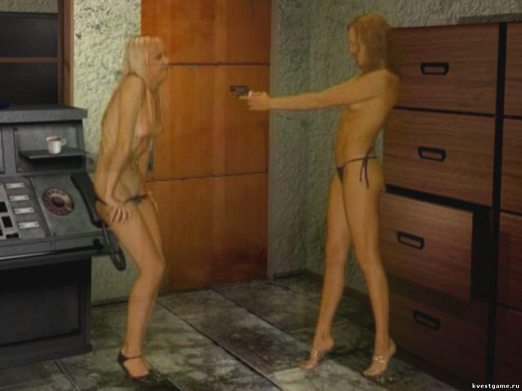 Обнаженные девушки в милиции