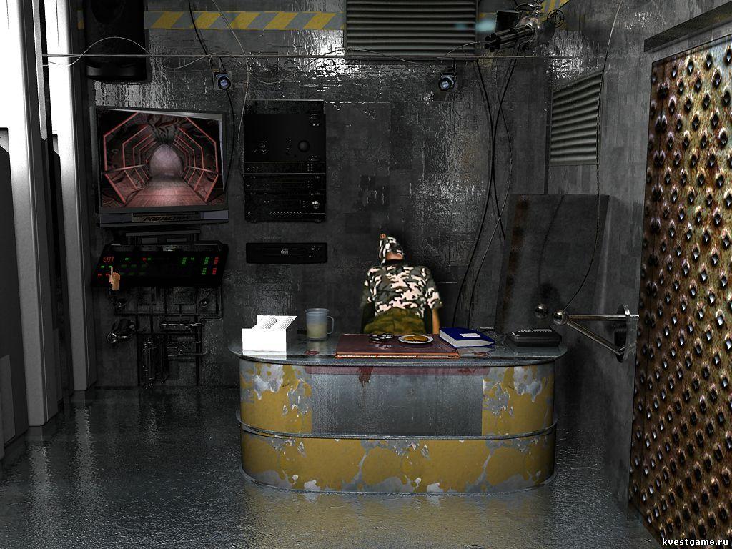 Гарри отключает пулеметы на заводе