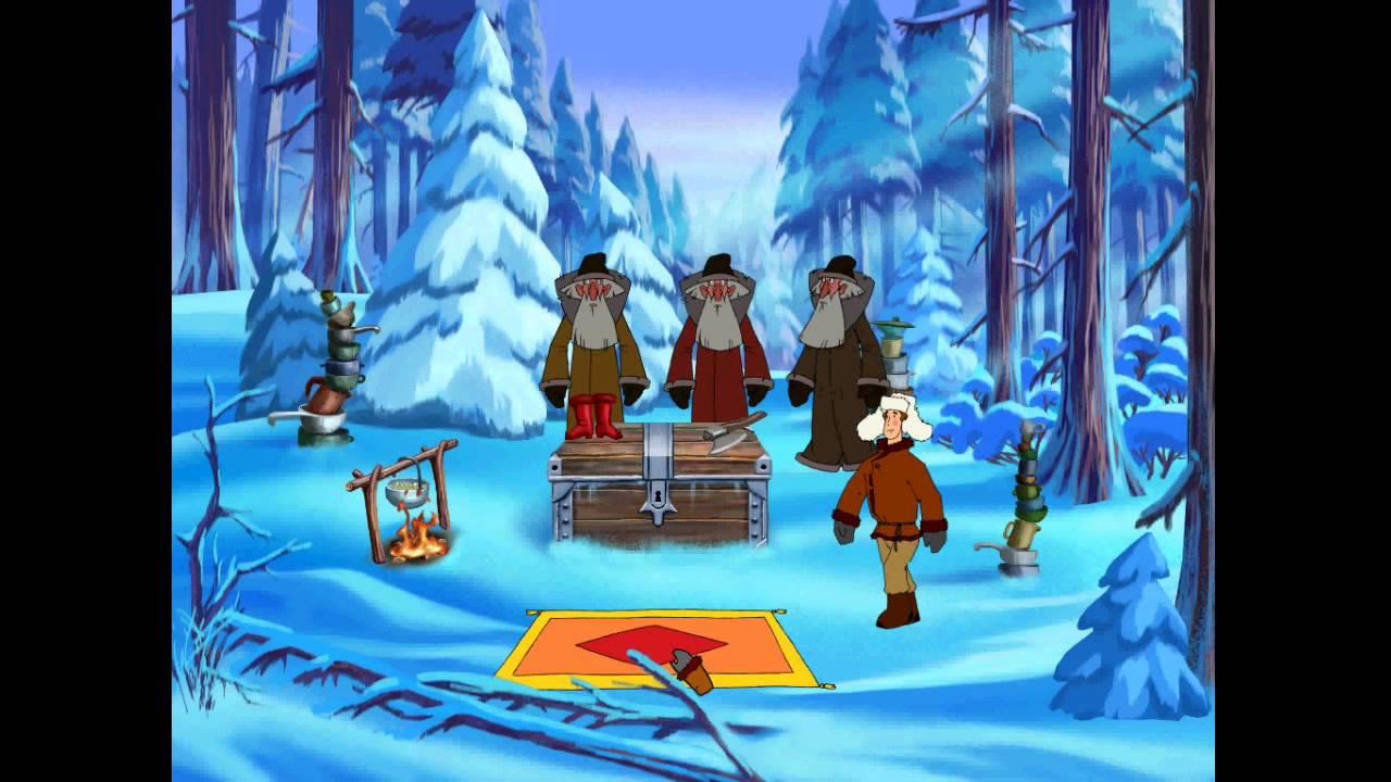 Иван Царевич и Серый волк - Фрол и старики в лесу (уровень 1)