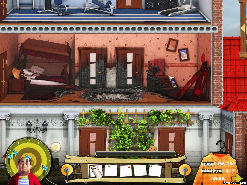 скриншоты игры Как достать соседа. Каникулы олигарха