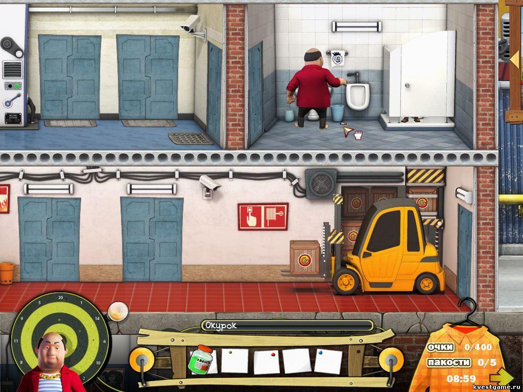 Прохождение Игры Как Достать Соседа Каникулы Олигарха 1 Уровень